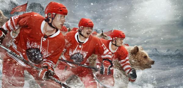 Björnstorm Hockey Umeå - Emil Nyström Advertising photographer