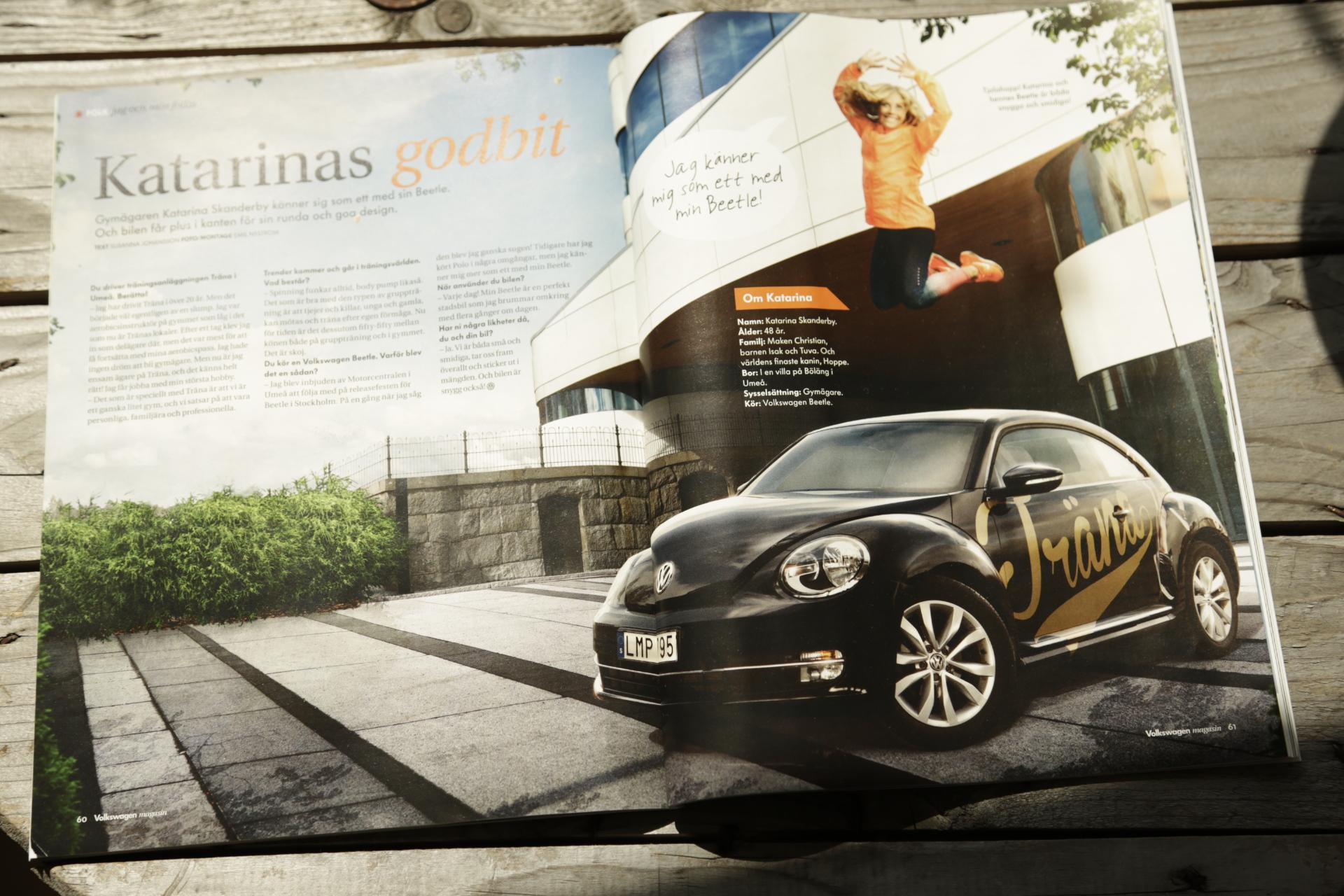 Volkswagen Magazine print